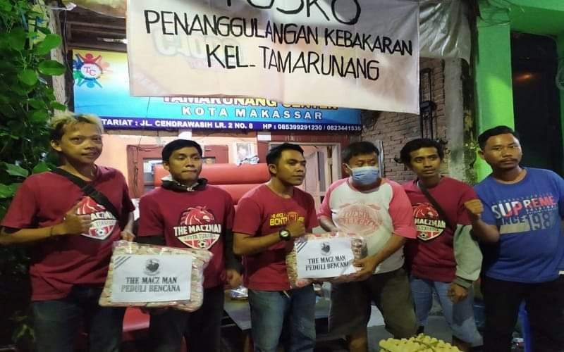 Komunitas suporter PSM Makassar, The Macz Man - Istimewa