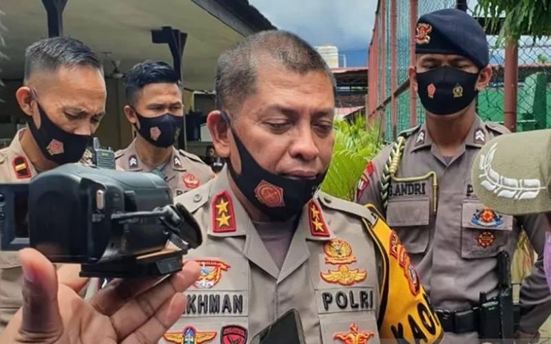 Kepala Polda Sulawesi Tengah, Inspektur Jenderal Polisi Abdul Rakhman Baso. - Antara