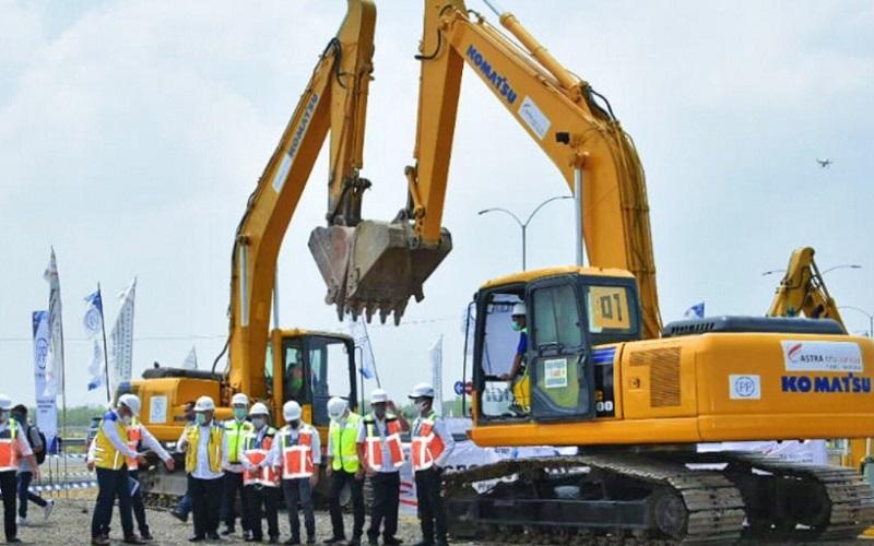 Groundbreaking tol akses Bandara Kertajati oleh Menteri PUPR Basuki Hadimuljono - KemenPU