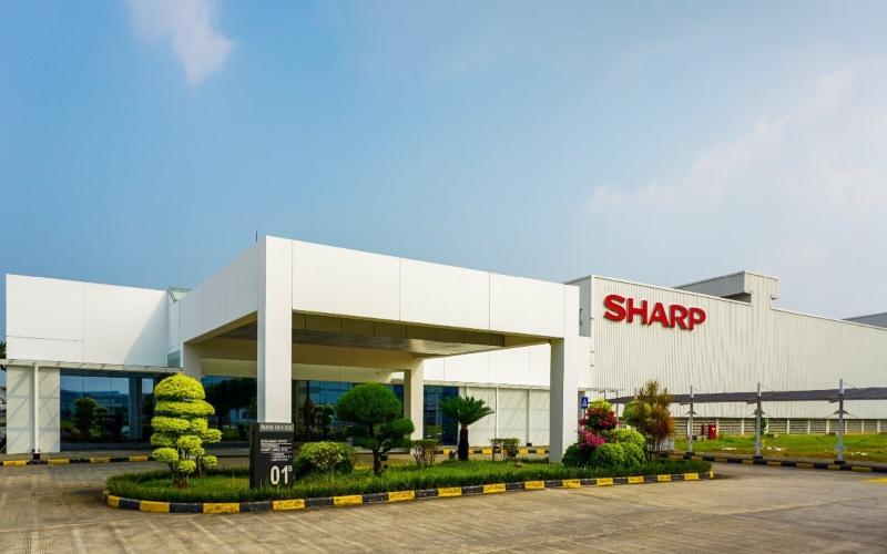 Pabrik Pusat Sharp Electronics Indonesia - Karawang. Istimewa - Sharp