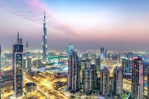 Gedung properti di Dubai, Uni Emirat Arab - Istimewa