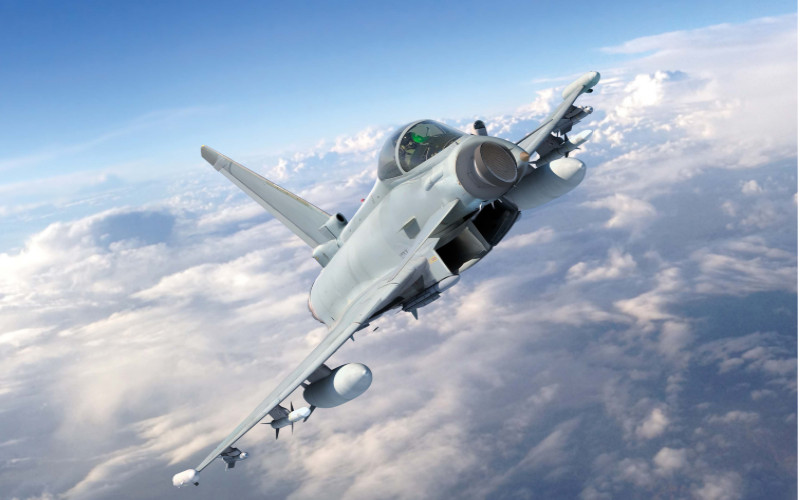 Thyphoon Eurofighter.  - Eurofighter
