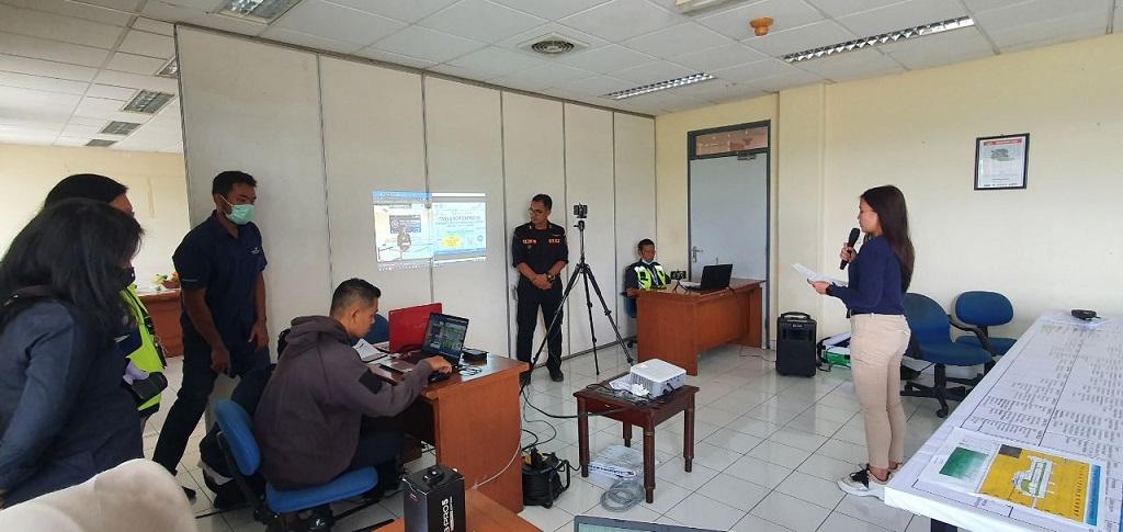 Bandara Sam Ratulangi Manado menggelar table top exercise secara virtual