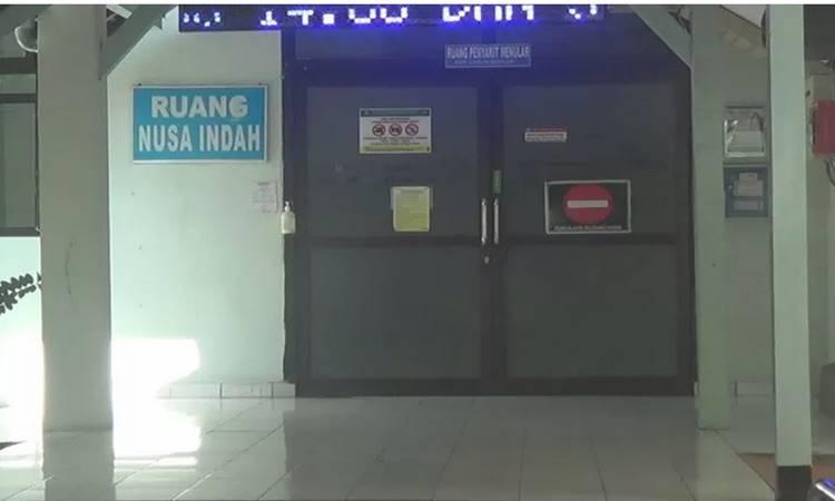 Ilustrasi - Gambar Ruang Nusa Indah di RSUP Sanglah, Denpasar  Bali. RSUP sanglah menjadi salah satu dari 15 RS rujukan untuk pasien Covid-19. - Antara