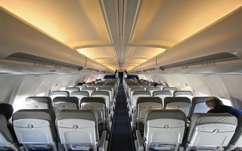 Ilustrasi kabin pesawat