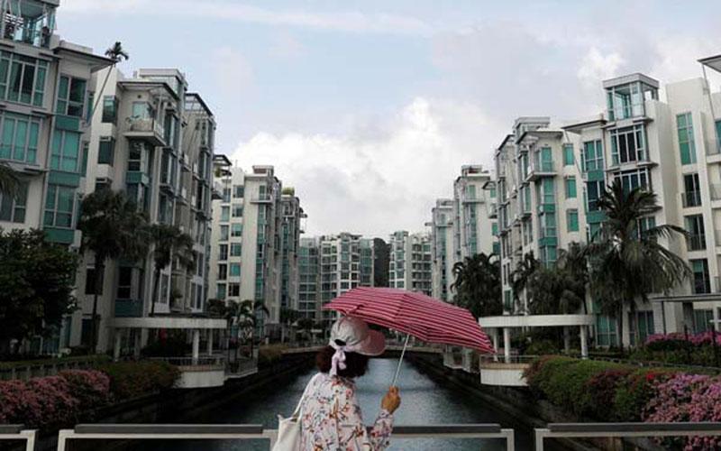 Wajah properti Singapura. - Reuters