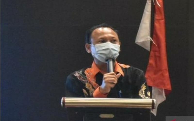 Ketua KPU Kabupaten Gresik Akhmad Roni. - Antara