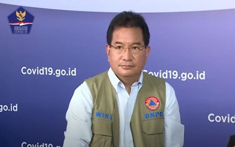 Ketua Tim Pakar Gugus Tugas Percepatan Penanganan Covid-19 Wiku Adisasmito. JIBI - Bisnis/Nancy Junita