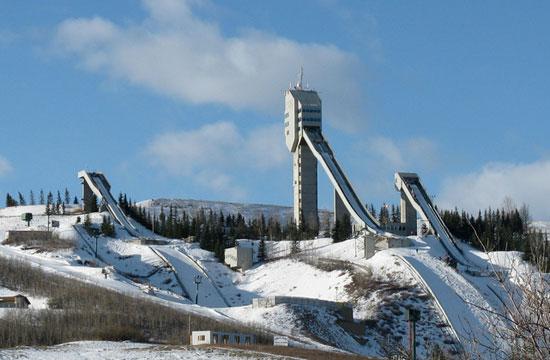 Calgary Olympic Park di Kanada. - Where