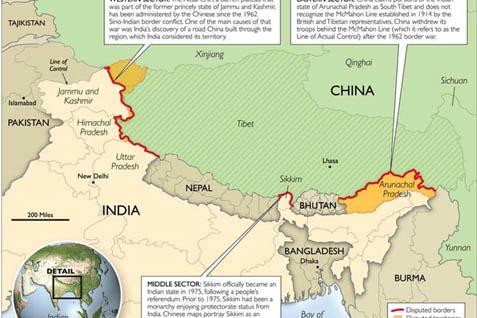 Perbatasan India-China - beforeitsnews.com
