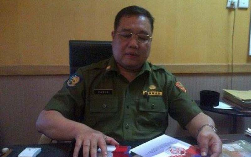Sekretaris Daerah Kabupaten Ogan Komering Ilir, Husin, siap kembali bertugas usai menjalani isolasi mandiri selama 14 hari di rumah. - Istimewa