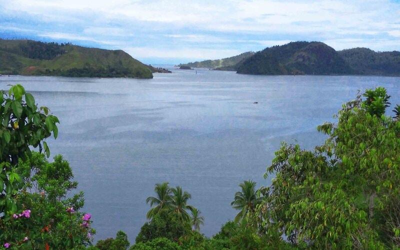 Salah satu spot untuk menikmati pemandangan di kawasan wisata Mandeh yang berada di Kabupaten Pesisir Selatan, Sumatra Barat. - Bisnis/Noli Hendra
