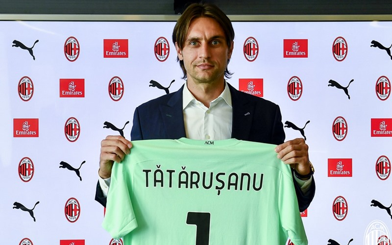 Ciprian Tatarusanu  - Twitter AC Milan