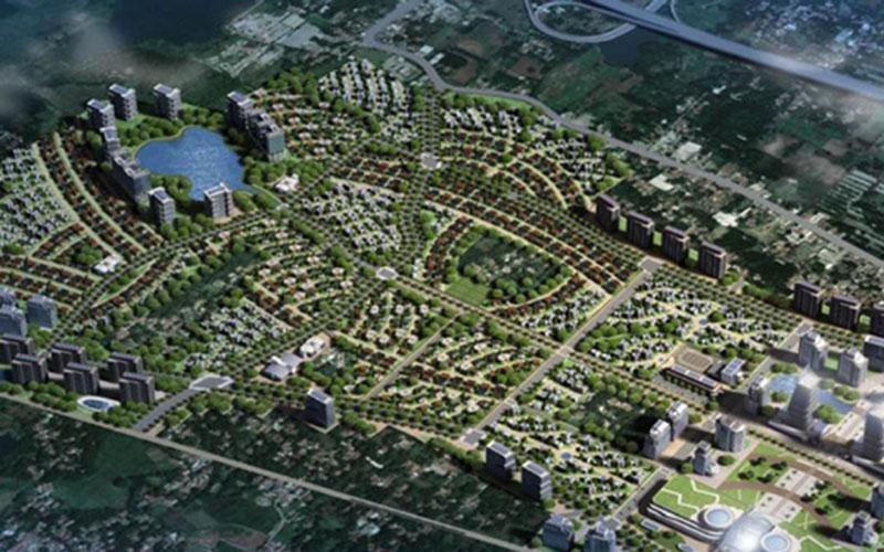 Proyek TOD yang akan dikembangkan oleh Sinar Mas Land dan Mitbana. - Istimewa