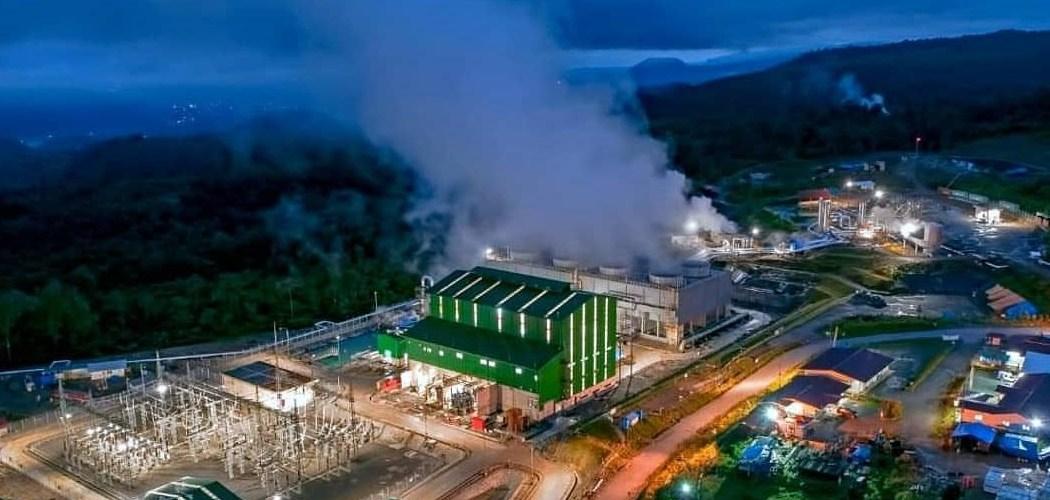 Kawasan Pembangkit Listrik Tenaga Panasa Bumi Muara Laboh yang dikembangkan Supreme Energy di Muara Labuh, Solok Selatan, Sumatra Barat. - Istimewa/Kementerian ESDM