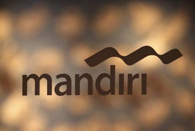 Logo PT Bank Mandiri Tbk. (Persero). - Reuters