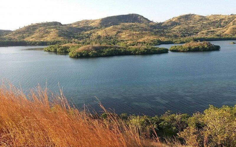Salah satu lokasi budi daya ikan yang dilakukan Provinsi Nusa Tenggara Timur di perairan Labuan Kelambu, Kabupaten Ngada. - Antara/Humas Setda NTT