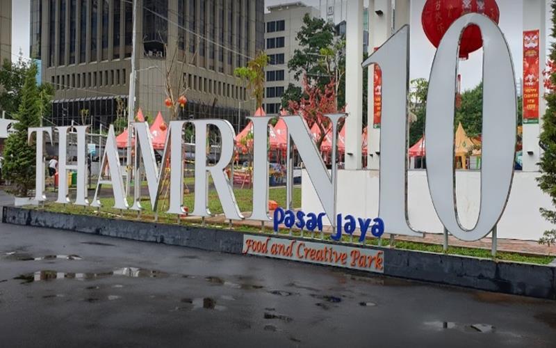 Pusat kuliner Thamrin 10 di Jakarta Pusat - Istimewa
