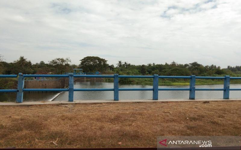 Bendung Tegal di Desa Kebonagung, Bantul, DIY, yang akan dihibahkan pemerintah pusat kepada Pemkab Bantul. - ANTARA/Hery Sidik
