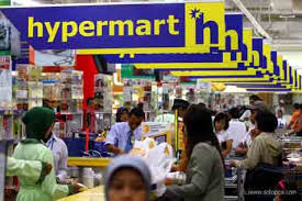Ilustrasi Hypermart. - Bisnis