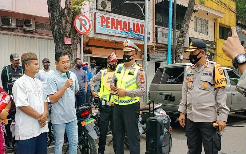 Razia masker di Kota Palembang, Senin (14/9 - 2020)