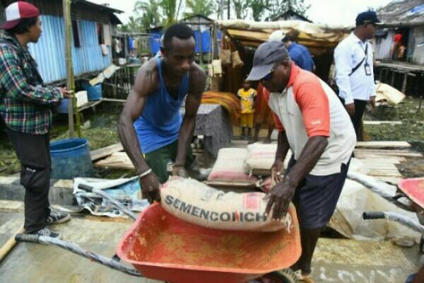 Kabupaten Program Padat Karya Tunai di Papua Barat - Istimewa