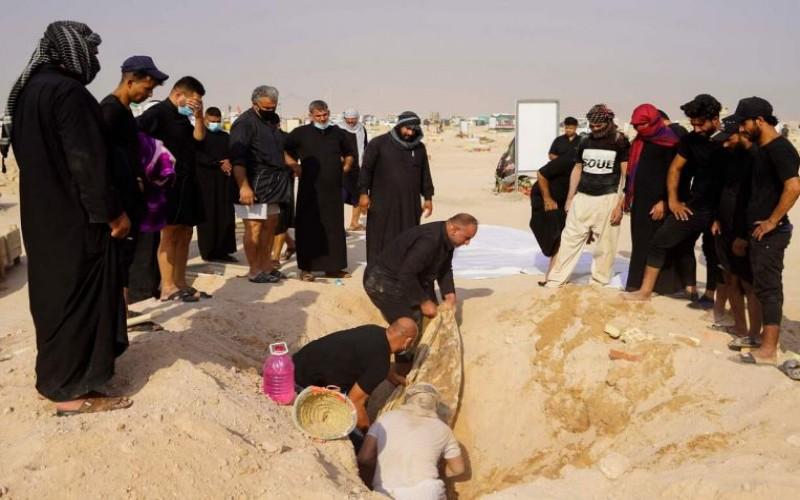 Pemakaman di Irak