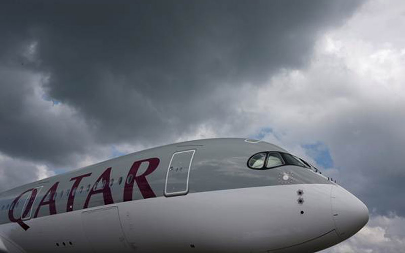 Maskapai penerbangan Qatar Airways - Reuters
