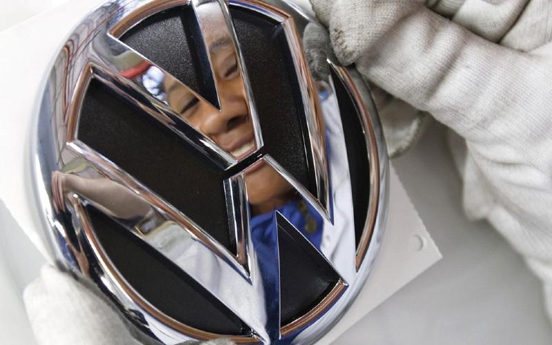 Logo Volkswagen.  - Volkswagen
