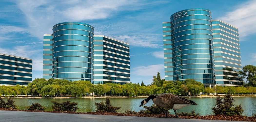 Kantor Pusat Oracle Corp di Redwood City, California, Amerika Serikat.  - David Paul Morris/Bloomberg
