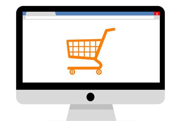 Ilustrasi e-commerce. - Bisnis