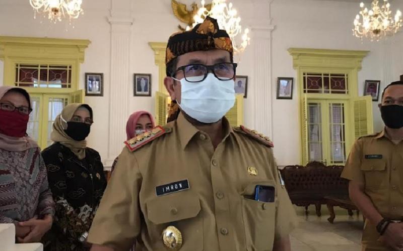 Bupati Cirebon Imron Rosyadi - Bisnis/Hakim Baihaqi