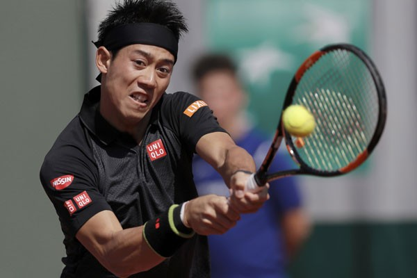 Petenis Jepang Kei Nishikori/Reuters - Gonzalo Fuentes
