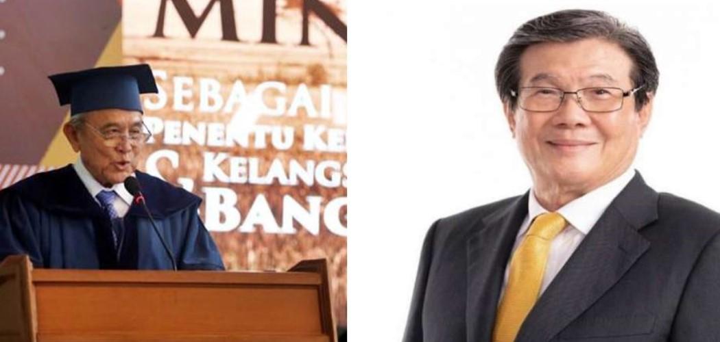 Theodore Permadi Rachmat dan Prajogo Pangestu, konglomerat yang melebarkan bisnisnya ke bisnis paket pengiriman kilat. - Bisnis.