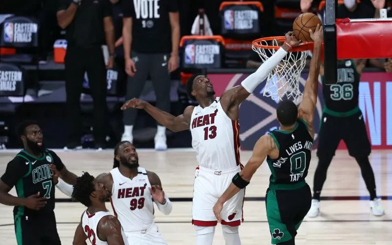 Final NBA Wilayah Timur Heat vs Celtics - Antara