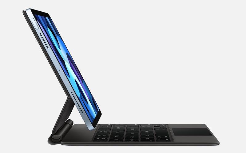 Tampilan iPad Air dari samping. - Apple.com