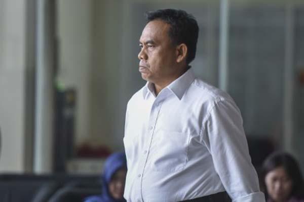 Sekda Pemprov DKI Jakarta Saefullah semasa hidup - Antara/Hafidz Mubarak