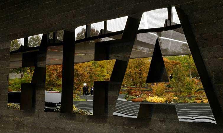 Logo FIFA. - REUTERS/Arnd Wiegmann