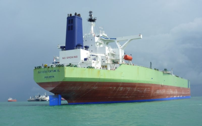Kapal tanker Success Fortune XL milik PT Soechi Lines. Kapal ini memiliki kapasitas hampir 300.000 DWT dan menjadi salah satu kapal andalan perseroan. - soechi.com