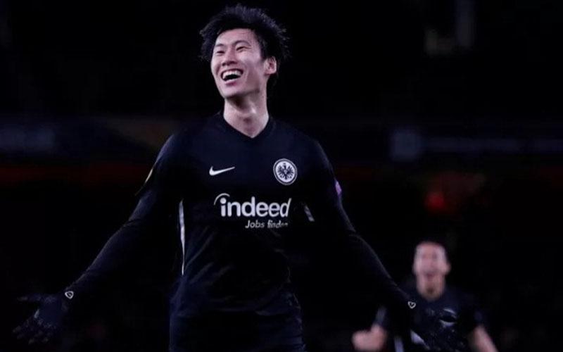 Gelandang Eintracht Frankfurt Daichi Kamada./Antara - Reuters