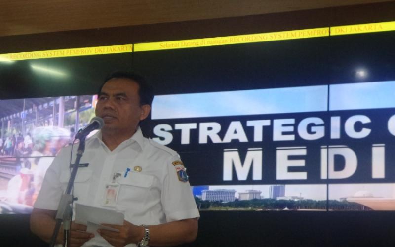 Sekretaris Daerah DKI Jakarta Saefullah  -  Bisnis / Feni