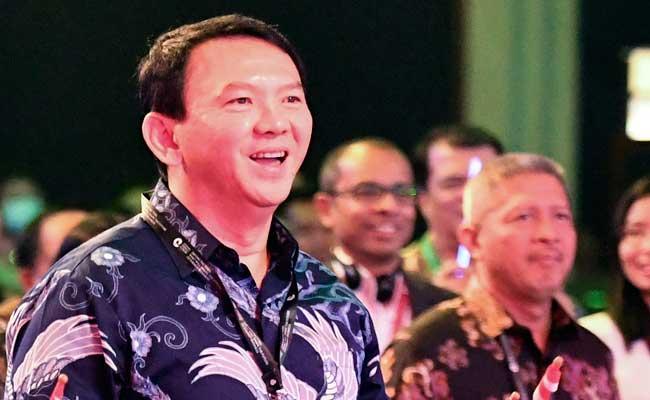 Basuki Tjahaja Purnama aliasAhok, Komisaris UtamaPT Pertamina (Persero) - Antara