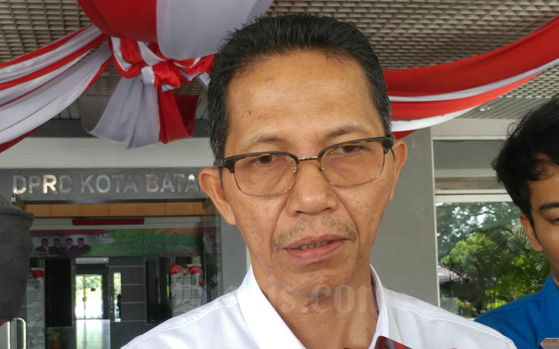 Wakil Wali Kota Batam Amsakar Achmad. - Bisnis/Bobi Bani