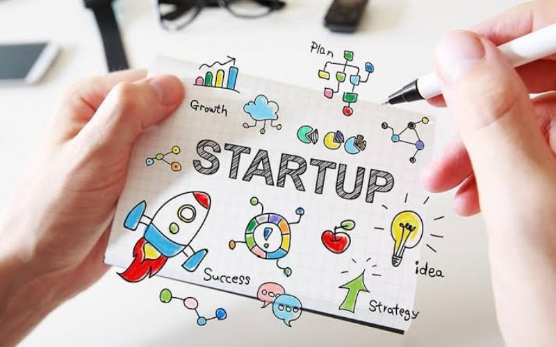 Ilustrasi startup -