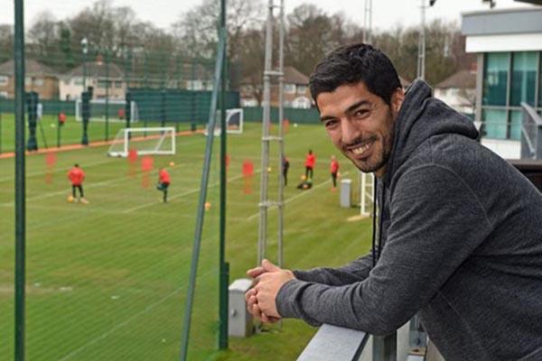 Luis Suarez - LiverpoolFC.com