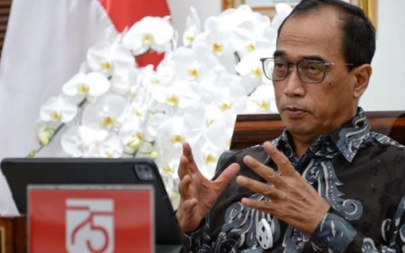 Menteri Perhubungan Budi Karya Sumadi.  - Kemenhub