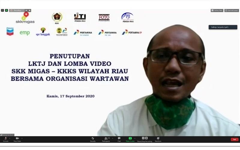 Haryanto Syafri pjs Kepala Perwakilan SKK Migas Sumbagut