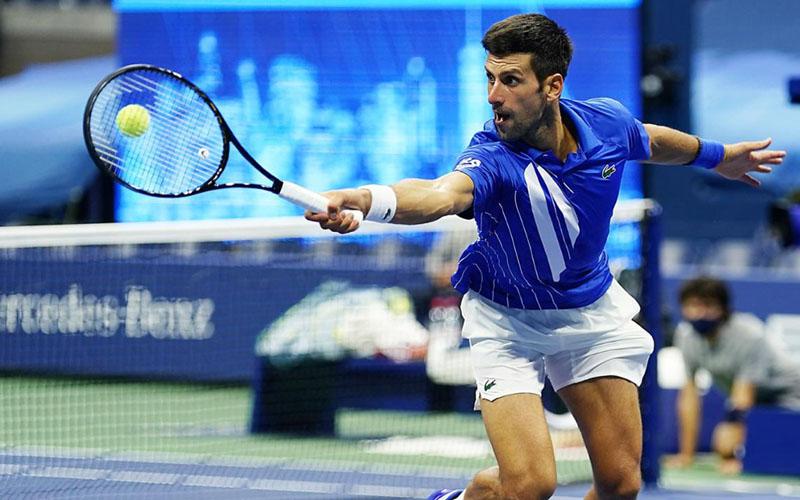 Petenis Serbia Novak Djokovic. - USOpen.org