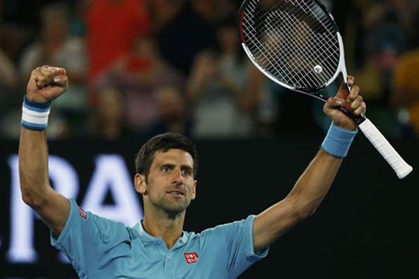 Petenis Serbia Novak Djokovic - Reuters