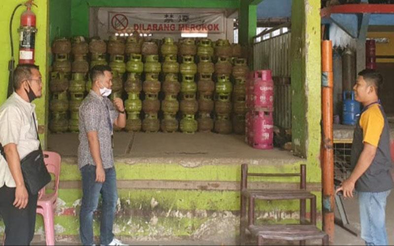 Pertamina menambah pasokan LPG 3 kilogram di OKU Raya, Sumatra Selatan. - Istimewa